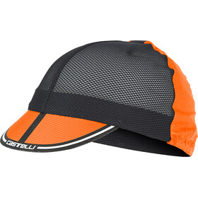 Castelli Ros Cycling Cap orange